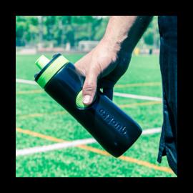 Quokka Sweat Black Lime műanyag sportkulacs 0,68 liter - 265010