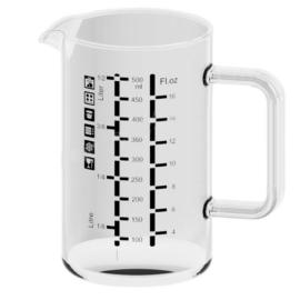 Simax üveg mérőpohár 0,5 literes - 401106