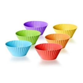 szilikon muffinforma színes 6 db - Banquet Culinaria 312604290