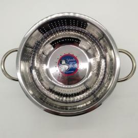 talpas tésztaszűrő rozsdamentes acél 24 cm - Salvinelli 130099