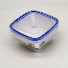 Dünya műanyag ételtároló doboz légmentesen zárható tetővel szilikon tömítéssel - DÜ21