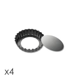 tésztasütő kosárka kerek 4db 10cm - 623111 Tescoma Delicia