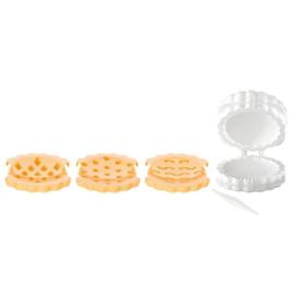 műanyag töltött sütemény formázó+3db kiszúró - 630881 Tescoma Delicia
