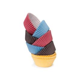 sütőpapír 6x5x2,5cm 100db színes - 630634 Tescoma Muffin
