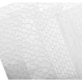 műanyag fondant sablon 41x25cm 4db kő/fa - 633080 Tescoma Delicia
