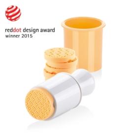 műanyag keksz-linzerformázó 6db - 630110 Tescoma Delicia
