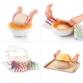 műanyag kenyér kelesztő tál - Tescoma Della Casa 643160