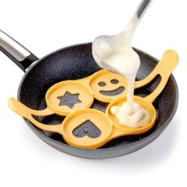 Tescoma Presto szilikon palacsinta és tojássütő forma - 420872
