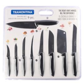 9 darabos kés készlet Tramontina Plenus - 23498/050