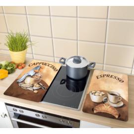 tűzhelyvédő üveglap 2 db Wenko Universal kávé hangulat - 2521280100