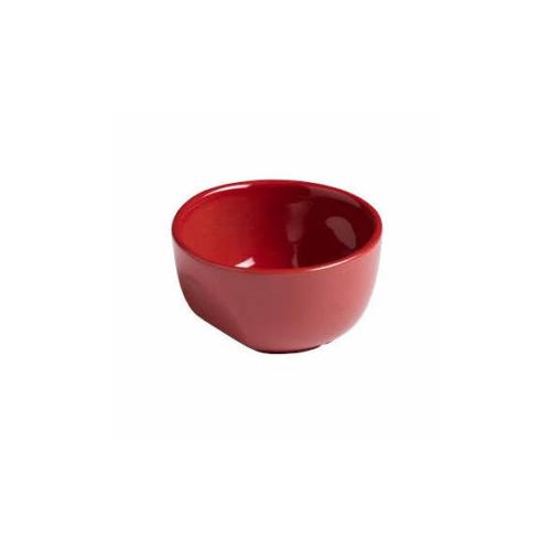 Pyrex kerámia souffle tálka 9cm CURVES RED - 203238