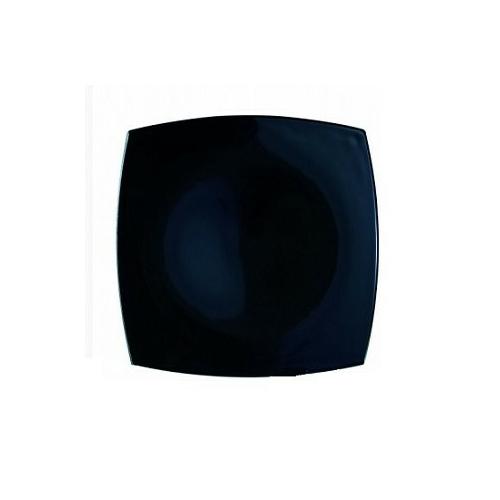 Luminarc Quadrato fekete tányér lapos 26,5 cm - 502112
