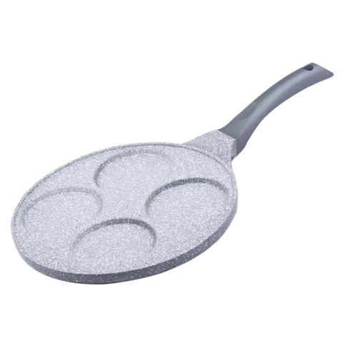 tapadásmentes indukciós palacsinta, tükörtojás sütő 26 cm - 40050017 Banquet Ganite Grey