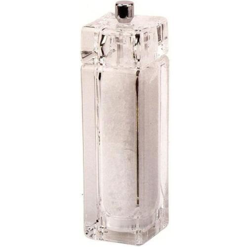 Bisetti szögletes, műanyag sóőrlő 14,5 cm - 127016