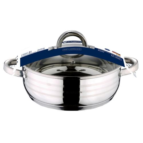indukciós szeletsütő fedővel 20 cm- es Blaumann Gourmet line BL-1001 rozsdamentes,