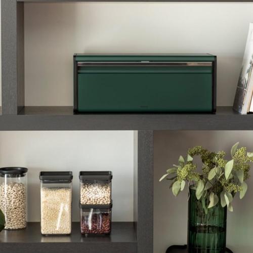 Brabantia Fall Front Bin® kenyértartó 2 kg-os Pine Green - 304705