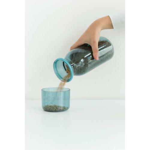 Brabantia műanyag ételtároló mércés fedővel zöld - 290183