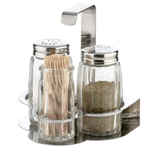 só, bors szoró fogvájó tartóval Tescoma Classic - 139173,