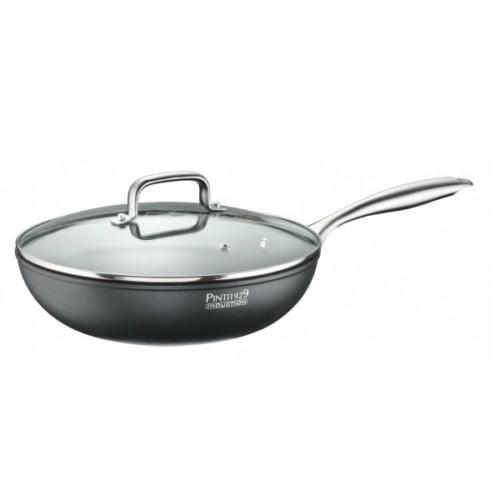 profi full indukciós tapadásmentes wok 28 cm - Pintinox Stone1
