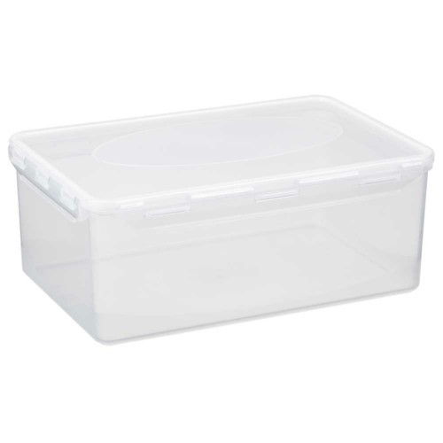 műanyag ételtároló doboz szilikon tömítéssel QR koddal 5 liter - 2805