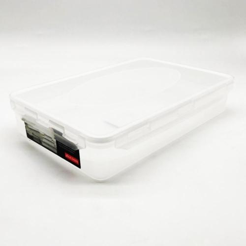 műanyag ételtároló doboz szilikon tömítéssel 2,3 liter - 2802 Plast team BPA mentes Plast team Air Tight