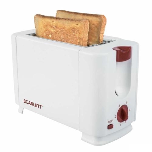 Scarlett 2 szeletes kenyérpirító fehér - SCTM11013
