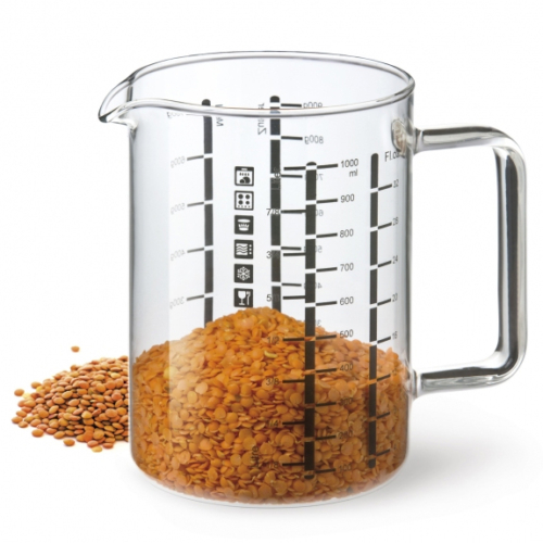 Simax üveg mérőpohár 1 literes - 401014