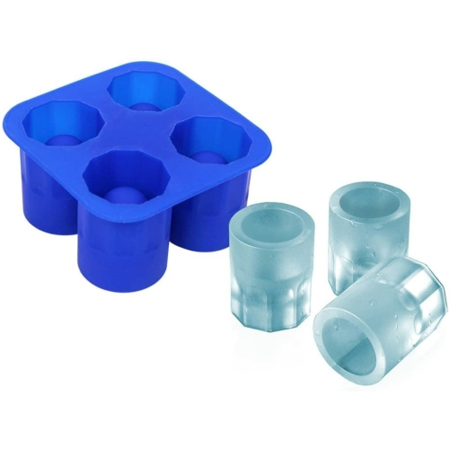 szilikon jégpohár készítő forma 4 darabos Blaumann BL-1191