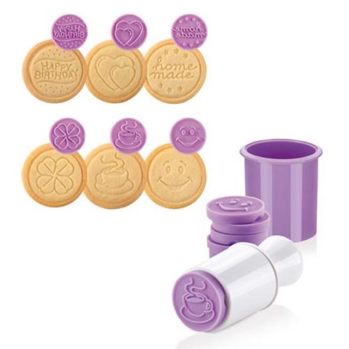 műanyag keksz-linzerformázó 6db /party/ - 630111 Tescoma Delicia