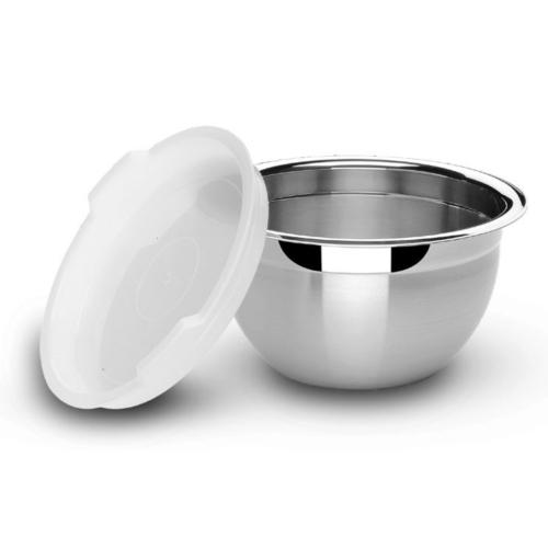 rozsdamentes acél keverőtál fedővel 24 cm 5,2 liter - Tramontina Cucina 414229